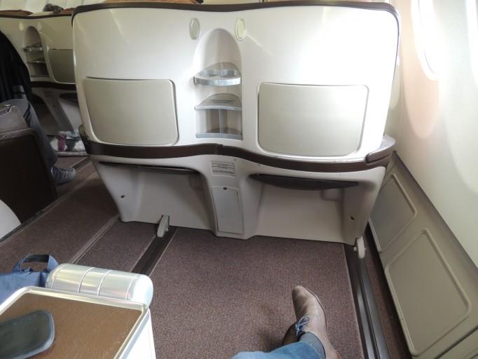 Iberia A340 business class