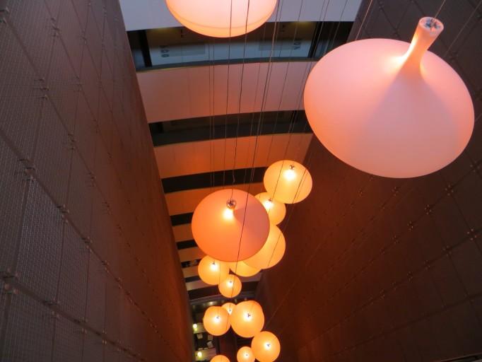 Tryp Condal Mar atrium