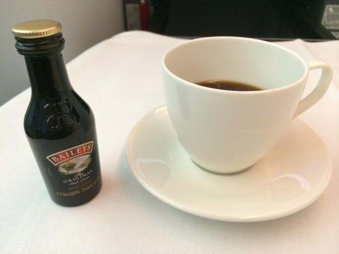 Koffie met likeur