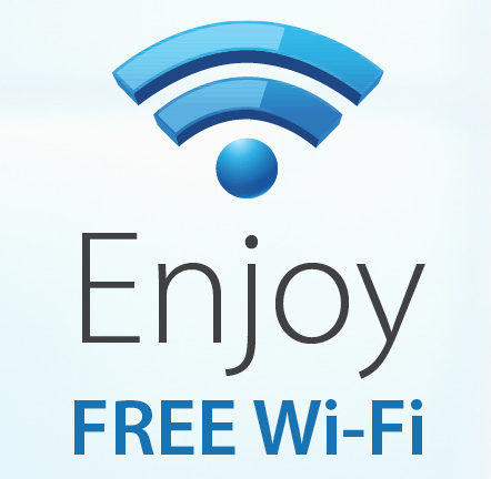 overal wifi gratis