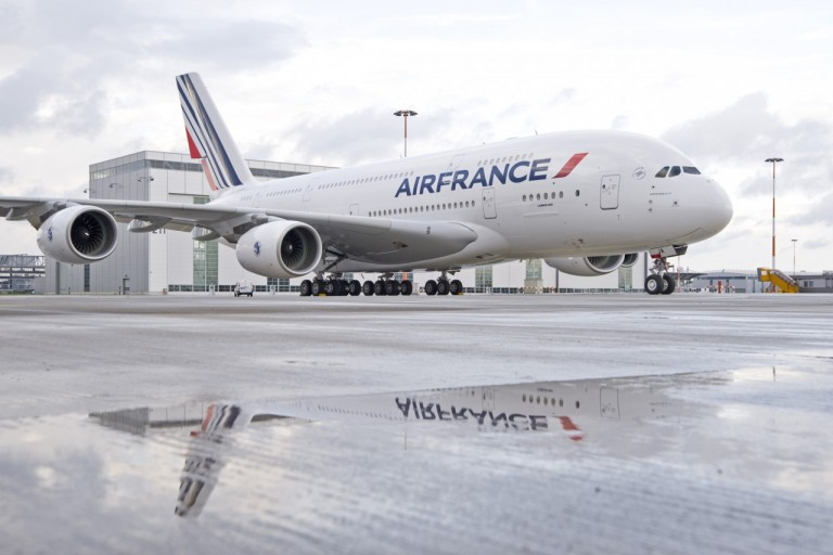 De Airbus A380 van Air France (Bron: Air France)