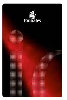 De Emirates iO kaart (afb.: Flyertalk)