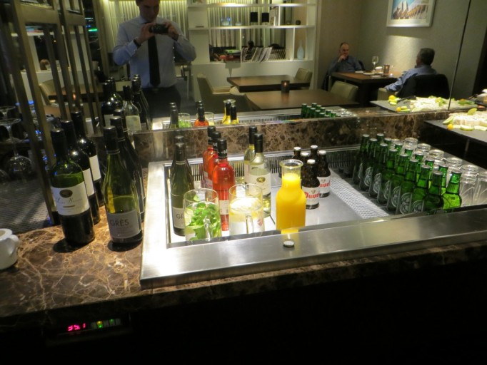 Executive lounge Hilton Rotterdam