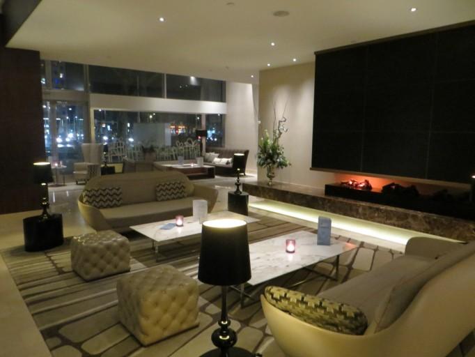 Hilton rotterdam insideflyer nl - Scheiding ingang lounge ...
