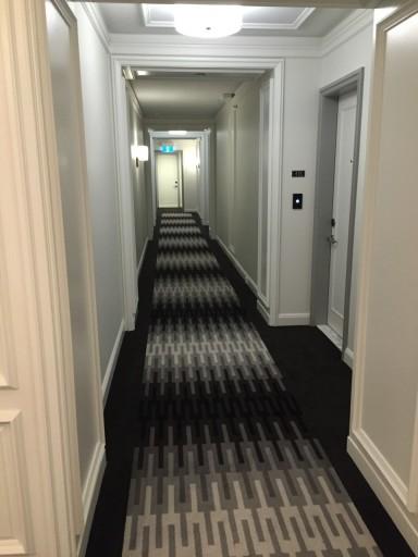 Gang op de vierde verdieping