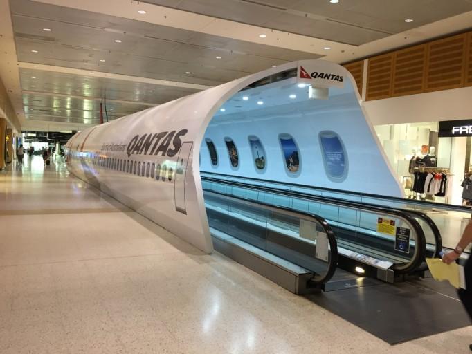 Qantas Branding