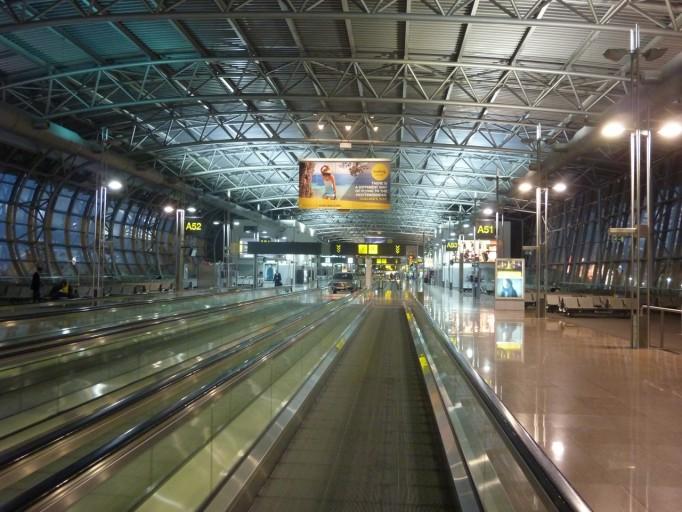 veel kans dat de luchthaven er tijdens de staking even desolaat bijligt