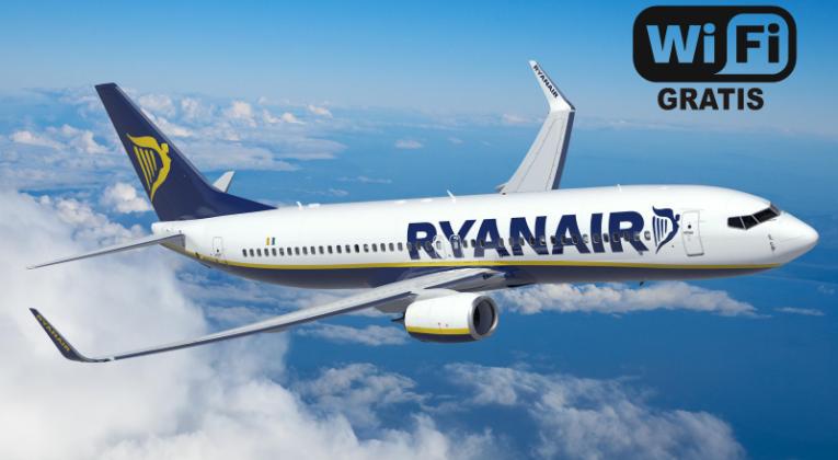 Gratis wifi bij Ryanair?
