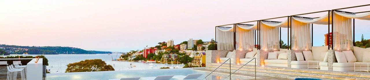 InterContinental dakterras met zwembad (foto: hotel zelf)