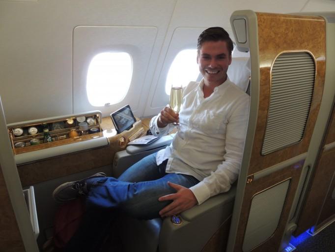 Emirates First Class A380