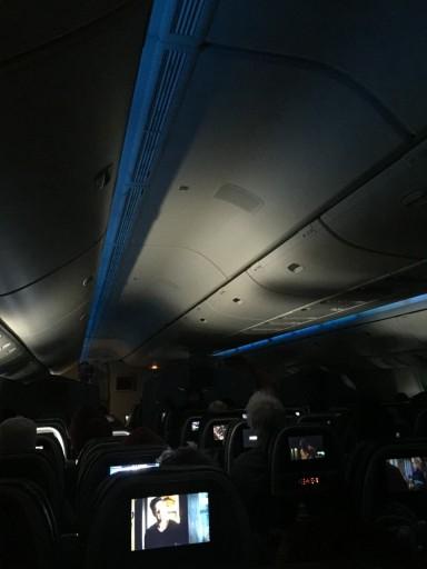 Moodlights geven sfeer in de cabine!