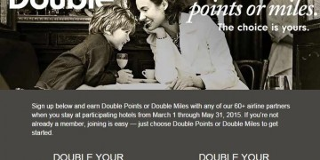 Double Your HHonors Promotie