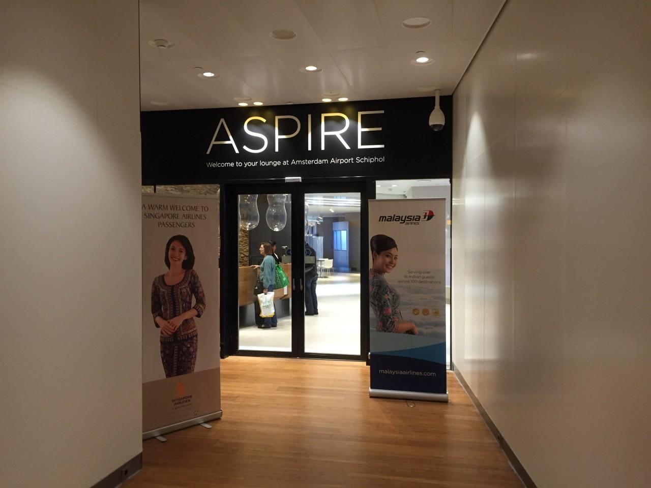 Aspire Lounge Schiphol Insideflyer Nl