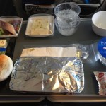 Singapore Airlines lunch