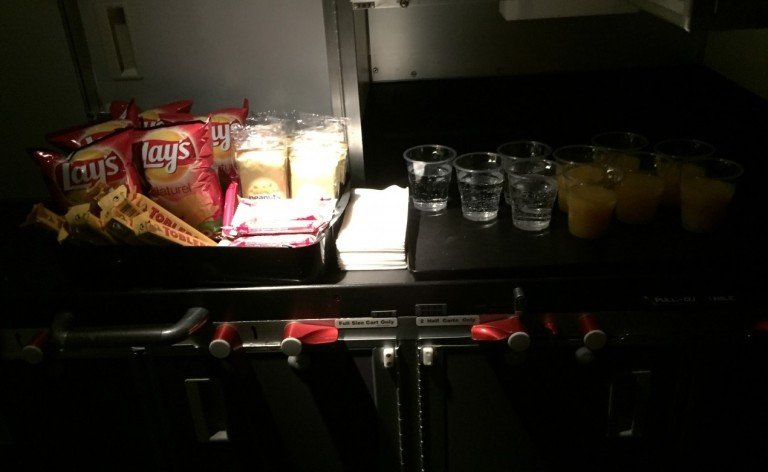 Singapore Airlines snacks