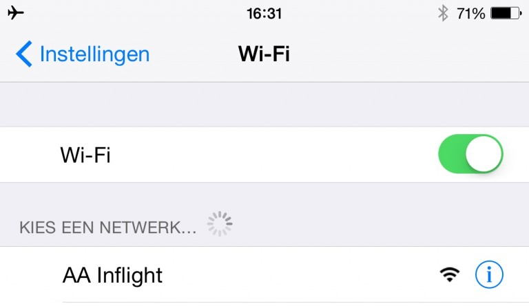 Inflight WiFi AA 777-300ER