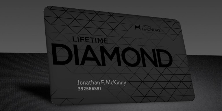 Lifetime Diamond Hilton