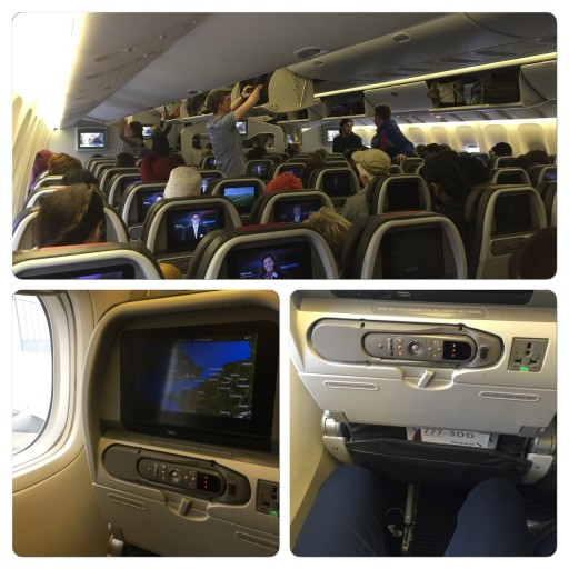 Row 29 Economy AA 777-300ER