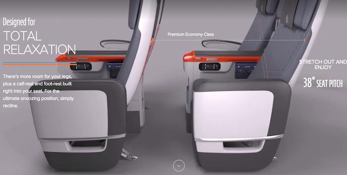 Singapore Airlines Premium Economy 3