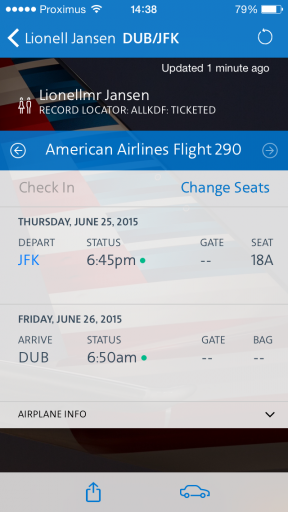 AA Plat - Flight Status