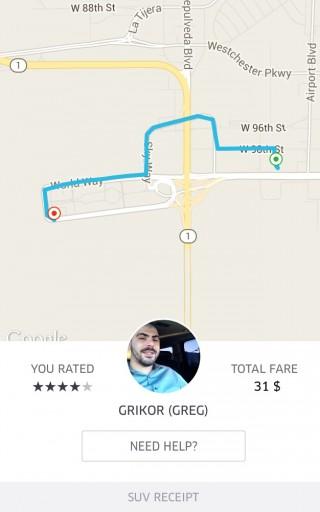 CP LAX - Uber SUV