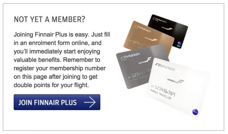 Finnair Plus Join