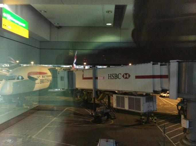 BA's Boeing 787 staat klaar...
