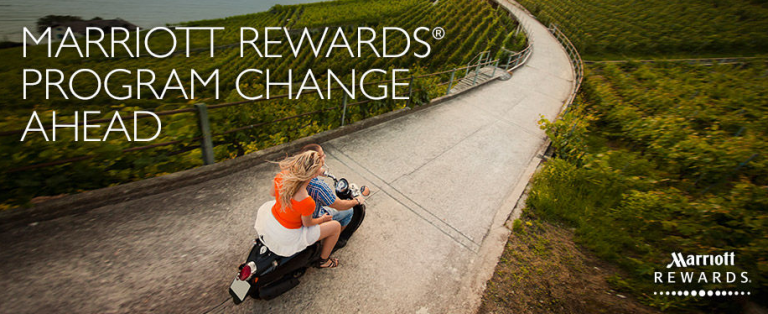 Marriott Rewards - Changes