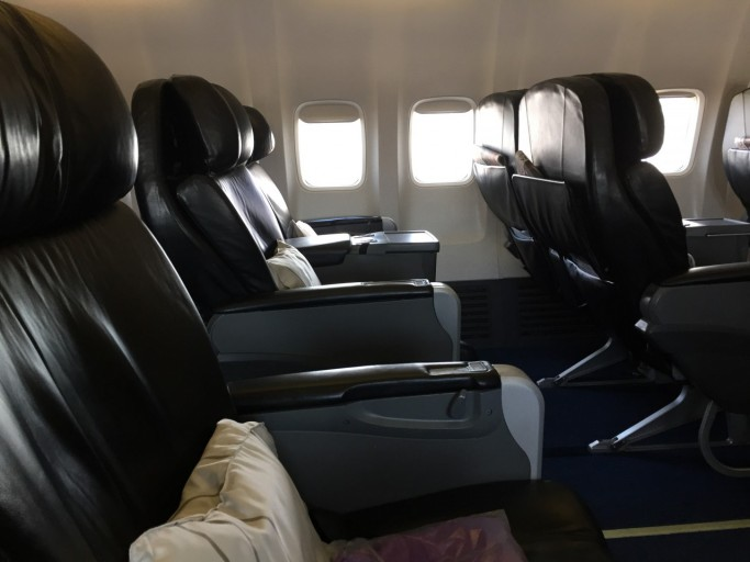 Malaysia Airlines' oude regionale Business Class