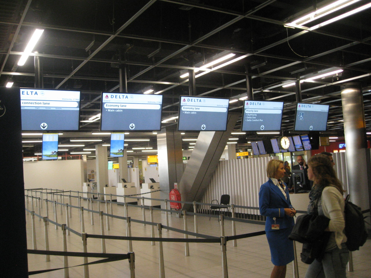 check in schiphol
