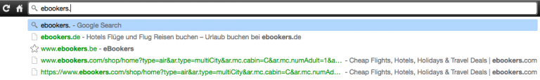 Geolocation - Browser URL Change