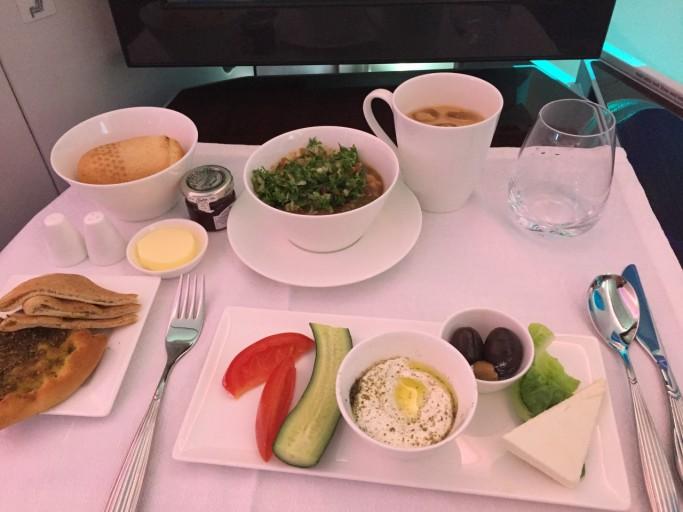 traditionele arabische ontbijt
