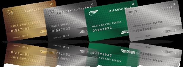 Alitalia MilleMiglia levels