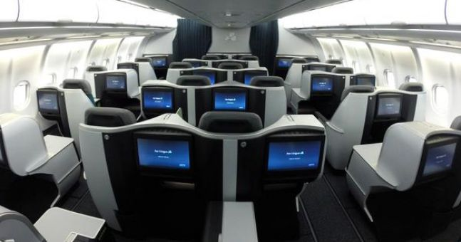 Aer Lingus business cabin1