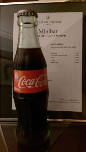 aanschouw, 's werelds duurste cola!
