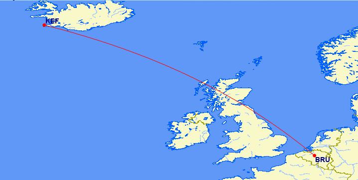 Icelandair - Map