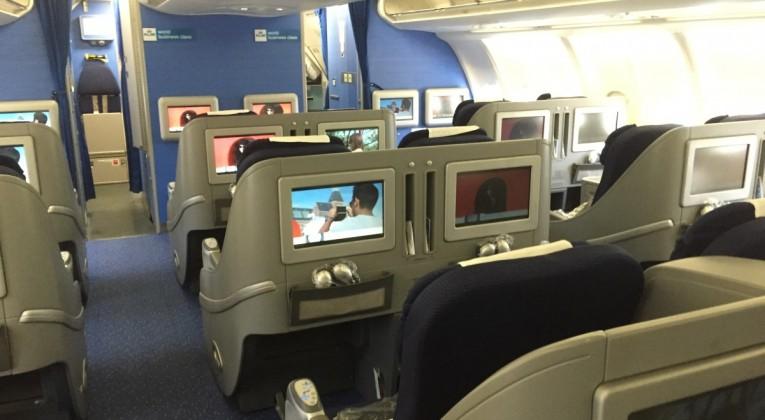KLM Business Class naar Amsterdam - InsideFlyer NL