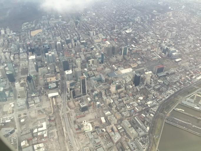 Boven Downtown Montréal