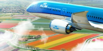 B787 KLM