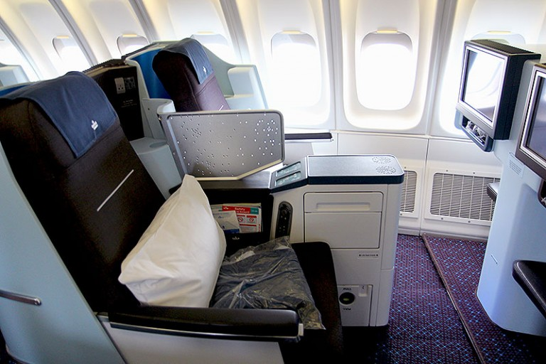 KLM World Business Class 777