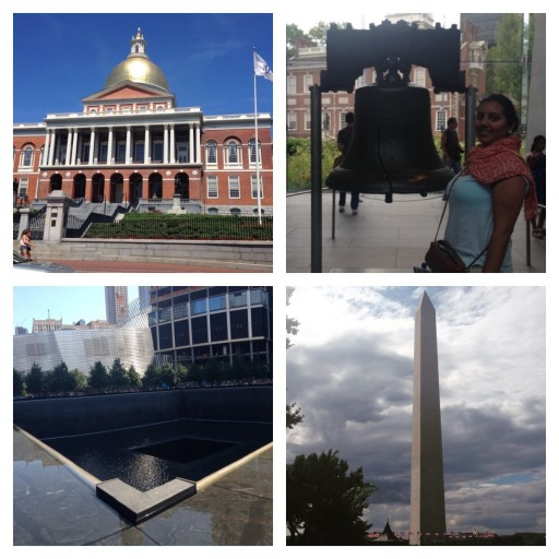 Boston - Philadelphia - New York - Washington
