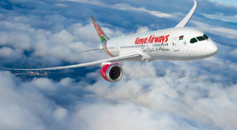 Kenya Airways 787