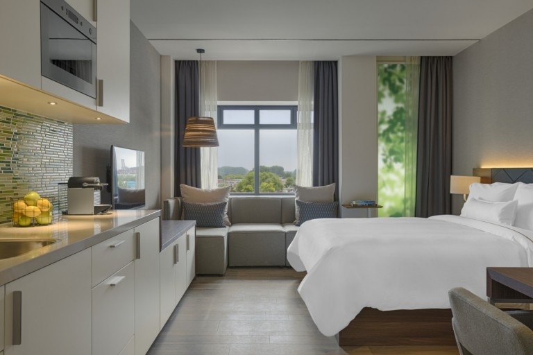 Element Amsterdam - Studio Bedroom