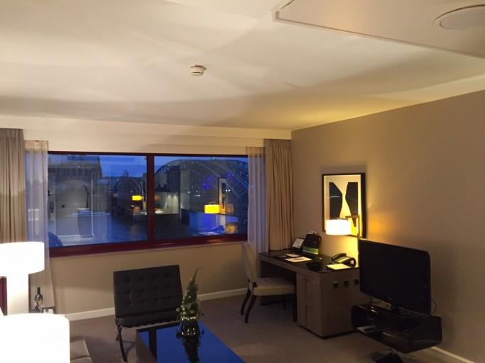 Hyatt Regency Keulen woonkamer