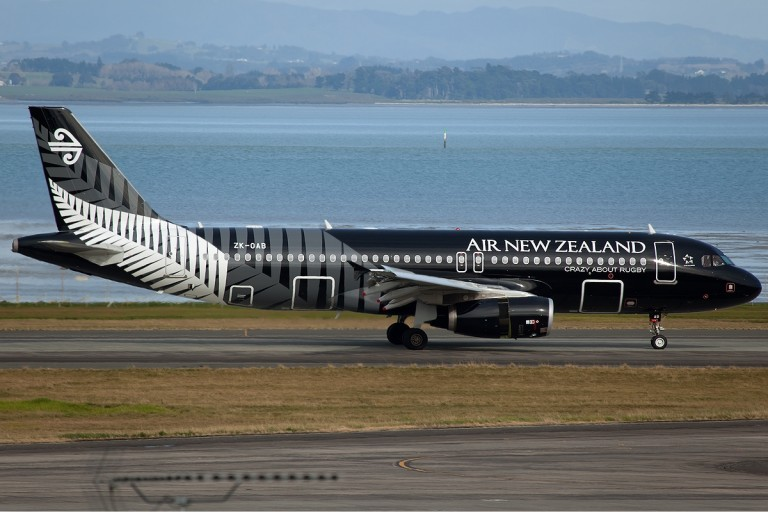 """De schitterende """"livery"""" van Air New Zealand"""