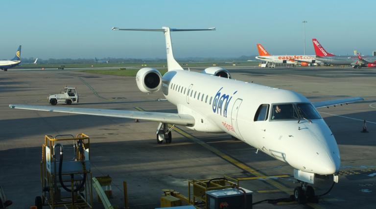 Brussels Airlines naar Nantes - BMI Regional Embraer 145