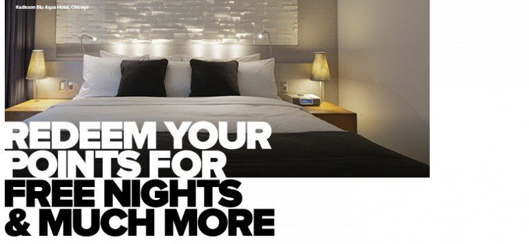 Club Carlson Brands To Love Promo - Redeem Points