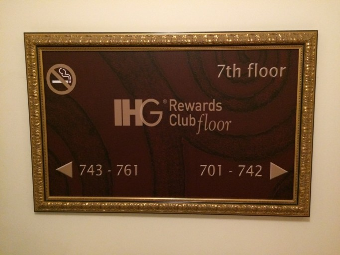 IHG Rewards Club Floor
