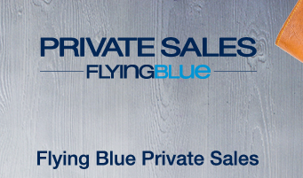 Flying Blue Private Sales