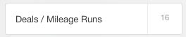 Hoe boek ik een mileage run - Evernote